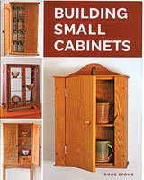 The handsome projects recommended in Building Small Cabinets use sustainable domestic hardwoods and natural materials with low impact on the environment.