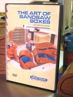 The Art of Bandsaw Boxes DVD Vol.1