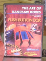 The Art of Bandsaw Boxes Vol. 2 Push Button Box - DVD