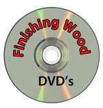 Finishing wood DVD's