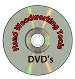 Hand woodworking Tools DVD