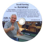 Scroll Sawing for Accuracy by Jerry Booer form the Judy Gale Roberts Worksop