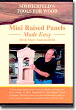 Mini Raised Panel Door Made Easy