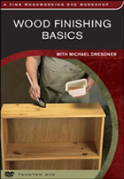 Image of Wood Finishing Basics DVD