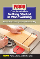 Complete Guide to Getting Started In Woodworking DVD