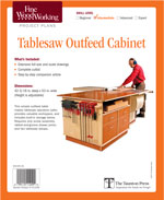 Tablesaw Outfeed Project Plan