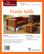 Fine Woodworking Sharke Rocking Chair Project Plan