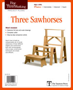 Fine Woodworking Three Sawhorses Project Plan