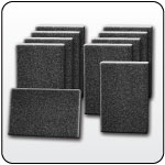 Link to Abrasive pads and sponges